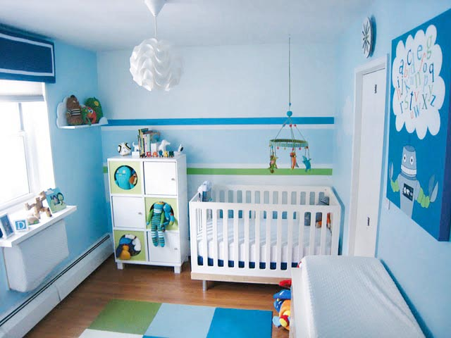 Mamemima Real Nurseries Blue Nursery Done Right