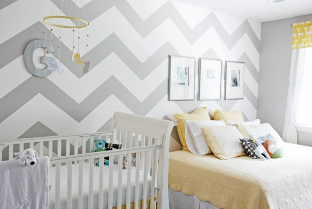 Chevron Wall Formula Inspiration How To Paint A Chevron Pattern