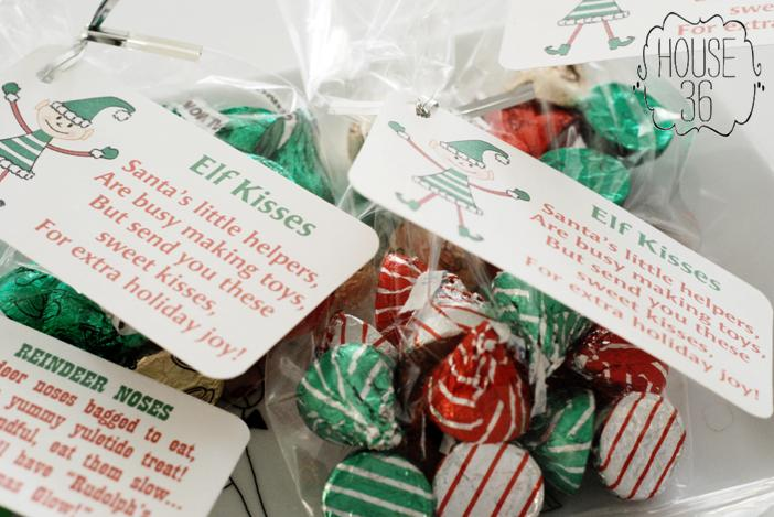 quick, simple, cute Christmas treat idea |