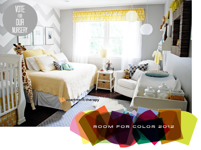 Nursery for Apartment therapy bedroom ideas