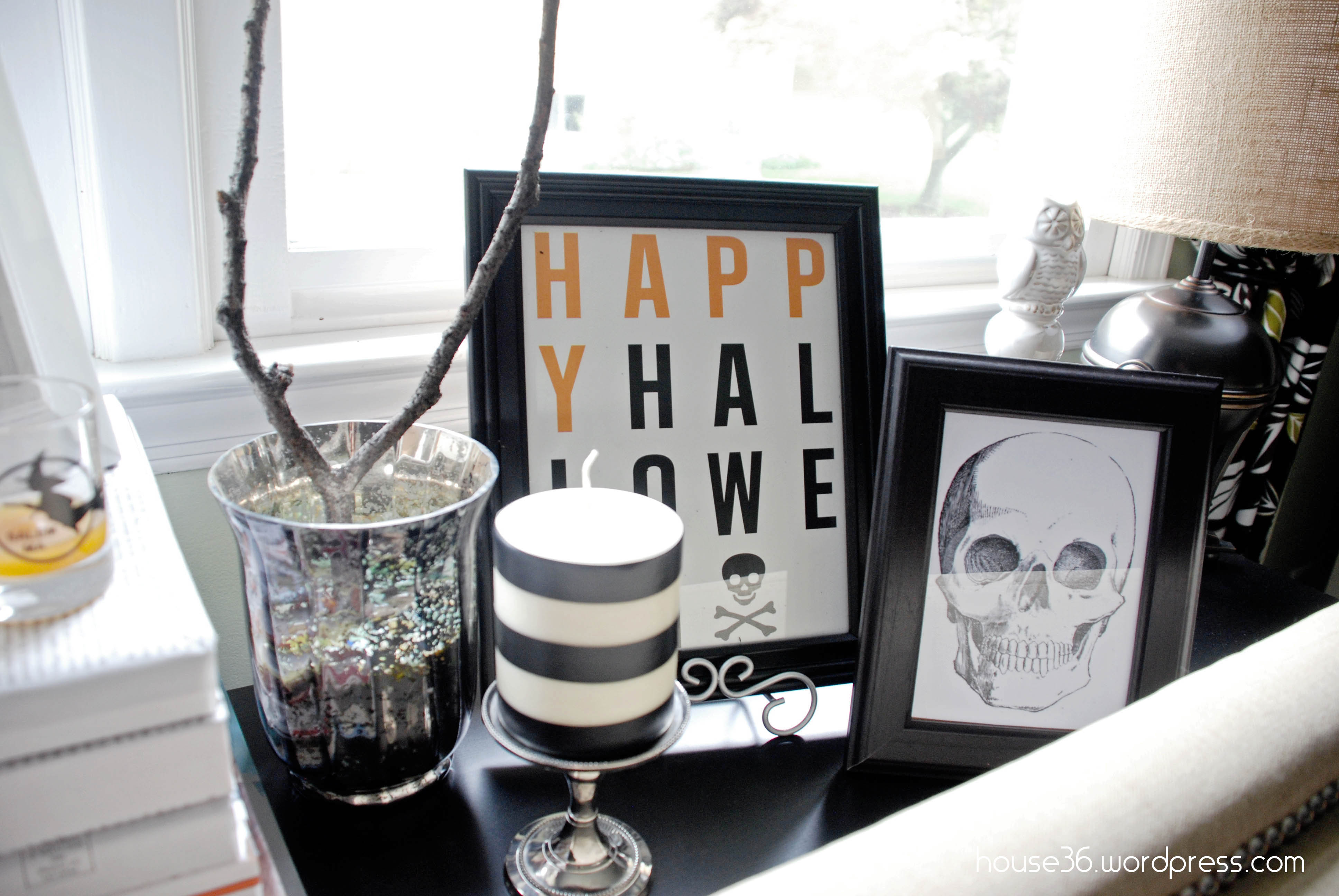 halloween decor {on a budget}  free halloween printables - Halloween Decorations And Accessories