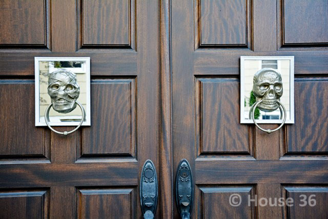 DSC_0883 copyWEB & halloween decor on a budget \u2013 chic spooky door knockers |